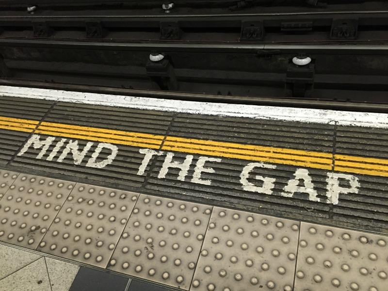 Cosa vedere a Londra in quattro giorni mind the gap