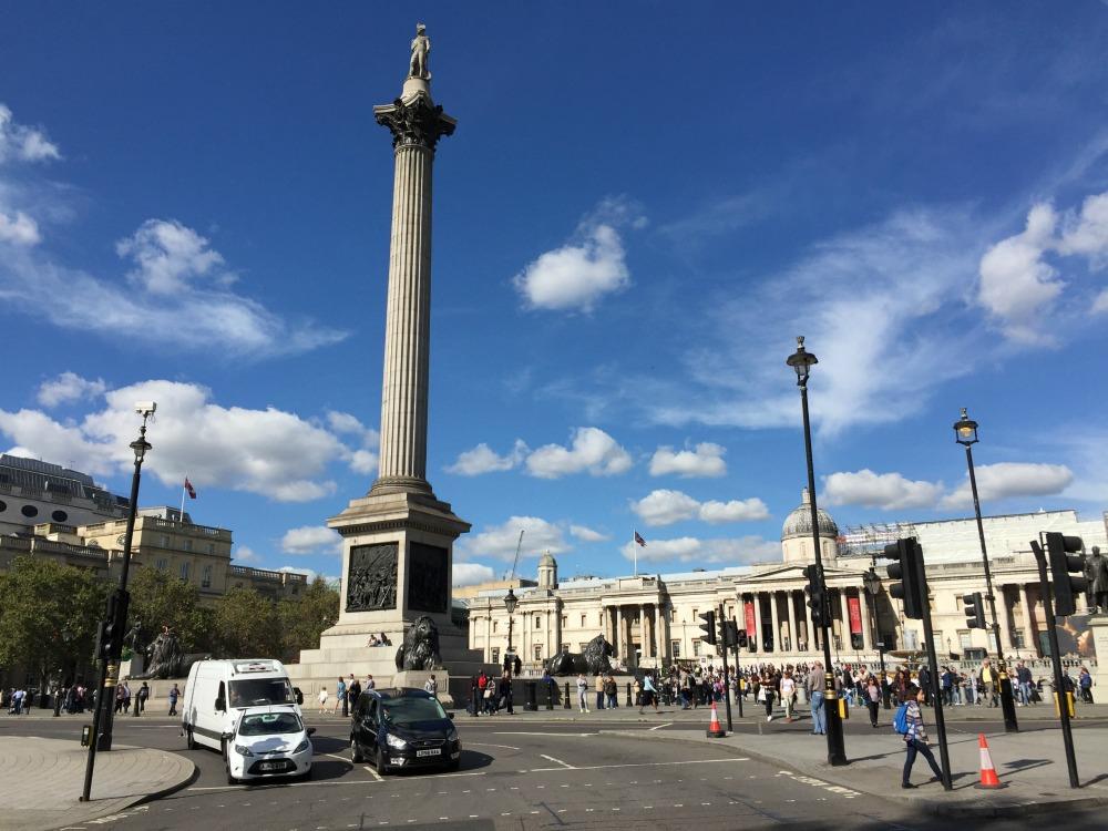 Cosa vedere a Londra in quattro giorni trafalgar square