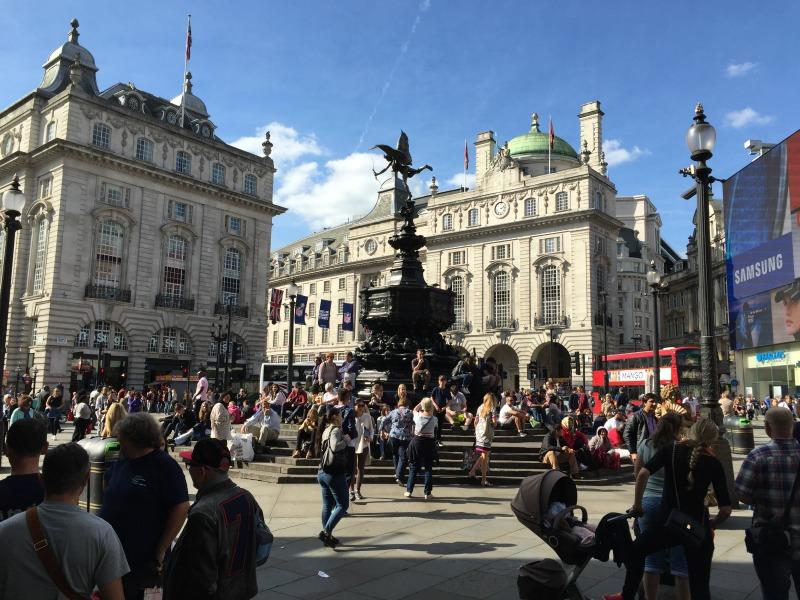 Cosa vedere a Londra in quattro giorni piccadilly circus