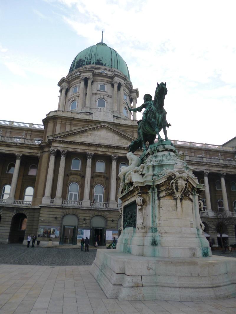 Cosa ho visto a Budapest castello buda