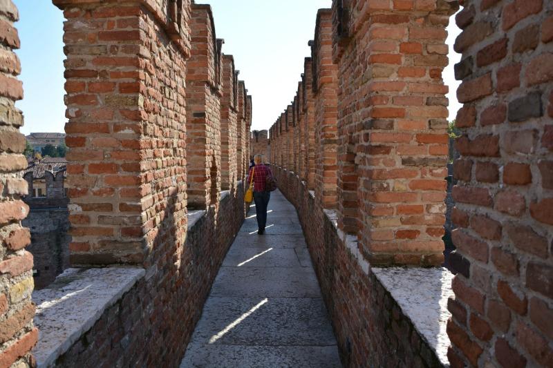 itinerario un giorno verona mura castelvecchio