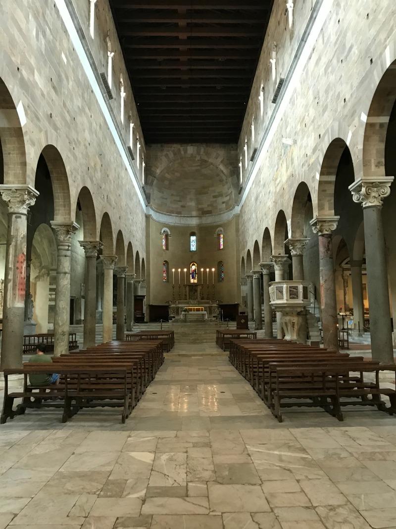 itinerario un giorno lucca basilica san frediano visita