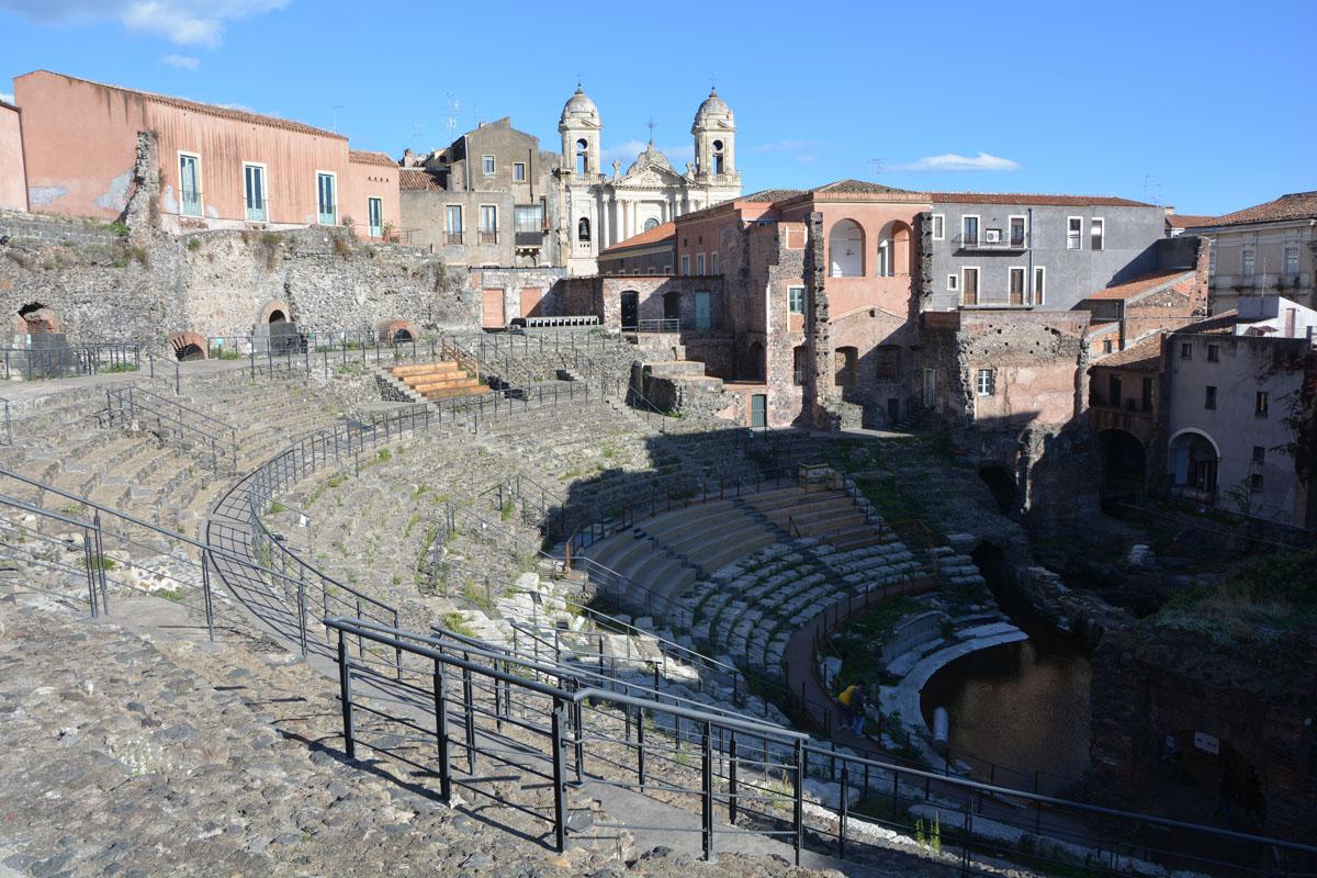 visitare catania in un giorno teatro romano
