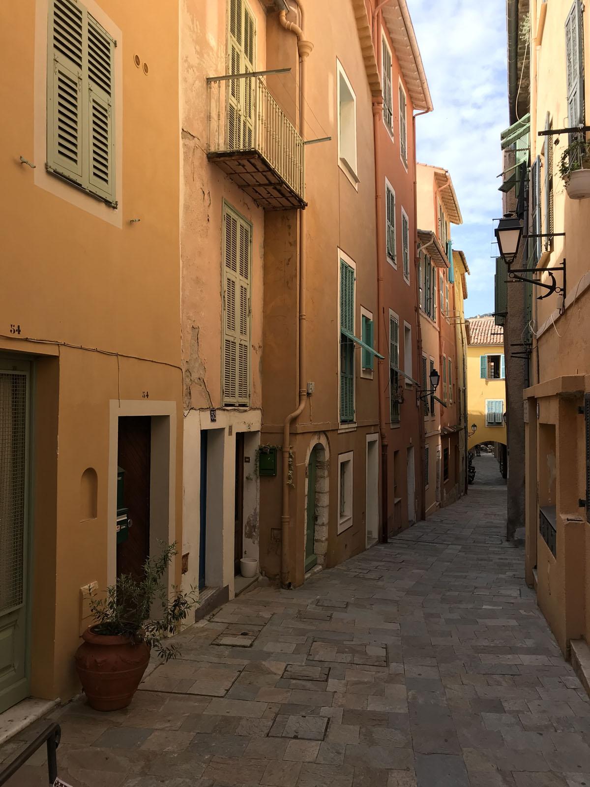 villefranche-sur-mer città vecchia